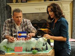 Comedian Paul Reiser plays himself and Amy Landecker stars as his wife in a sitcom that takes its structure from Larry David's HBO series, Curb Your Enthusiasm.