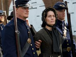 Robin Wright stars as Mary Surratt in Robert Redford's The Conspirator.