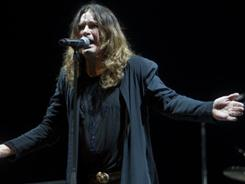 Ozzy Osbourne, shown in concert in Brazil earlier this month, is the ambassador for Saturday's Record Store Day.