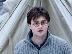 Harry Potter and the Deathly Hallows, Part I: Daniel Radcliffe, all grown up.