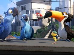Rio's animated birds earned $40 million at the box office this weekend.