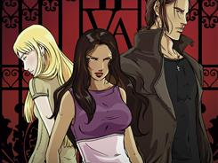 Richelle Mead's popular Vampire Academy book makes its graphic-novel debut in August.