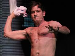  Charlie Sheen, who performed on his Violent Torpedo of Truth Tour in Atlantic City on Saturday, was in court Tuesday seeking custody of his twin sons with Brooke Mueller.