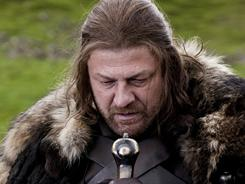 "Sean Bean stars as Lord ""Ned"" Stark, enlisted by the king to help keep the peace, in HBO's fantasy epic Game of Thrones."
