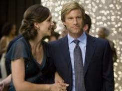 Maggie Gyllenhaal and Aaron Eckhart appear in a scene from the 'The Dark Knight,' one of 2008's top films, which was part of an analysis of the types of roles played by men and women in motion pictures.