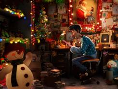 It's getting to look a lot like Christmas, Arthur Christmas, an animated film produced by Aardman Animations for Sony Pictures Animation, coming in November.