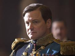 Colin Firth's portrayal of George VI in The King's Speech was awarded an Oscar.