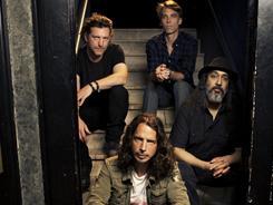 Soundgarden, from bottom left: Chris Cornell, Ben Shepherd, Matt Cameron and Kim Thayil.