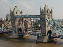 Tower Bridge: For pals Scalzitti and Bergeman, a visit to the historic structure is on the to-do list.