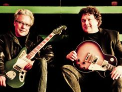 Radney Foster, left, and Bill Lloyd went separate ways in 1990 to pursue solo careers. The fires of a reunion were stoked when they performed together at the Americana Music Festival.