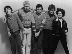 Poly Styrene, right, the former lead vocalist of punk band X-Ray Spex, died on Monday following a battle with breast cancer which had spread to her spine and lungs. She's shown here with her fellow  band members in this 1978 photo.