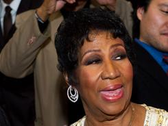 Aging gracefully: Aretha Franklin's new album, A Woman Falling Out of Love, goes on sale Tuesday.