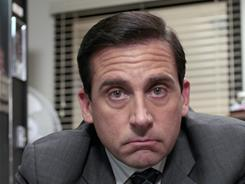 Bye-bye, boss: Steve Carell has provided viewers with lots of laughs as Dunder Mifflin manager Michael Scott. The series will continue without him next season.