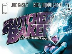 Joe Casey's Butcher Baker, The Righteous Maker stars an over-the-top superhero and even crazier group of villains.