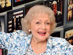 Betty unplugged: White, hamming it up at the Museum of Television and Radio in Beverly Hills, has a book out Tuesday, If You Ask Me (And Of Course You Won't).