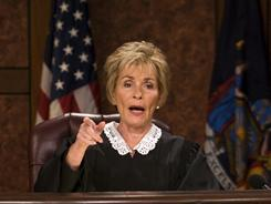 Television's 'Judge Judy' will remain behind the bench through 2015.