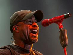 Darius Rucker performed on Saturday at the Stagecoach music festival in Indio, Calif.
