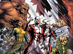 Members of Canada's favorite superhero team find themselves enemies of their homeland in Alpha Flight issue 1, debuting next month.