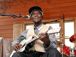 David &quot;Honeyboy&quot; Edwards, 95, knew Johnson, who died at age 27. &quot;It is amazing to me how his music has carried on a long ways,&quot; he says.  