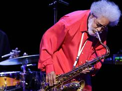 Jazz great Sonny Rollins wil co-headline the New Orleans Jazz & Heritage Festival on Sunday.