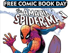 You'll find Spidey in comic-book shops this weekend, with a guest appearance by Spider-Woman.
