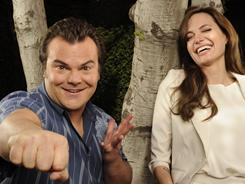 The personalities of Jack Black (kinetic energy) and Angelina Jolie (reserved tenor) have worked their way into the Kung Fu Panda franchise.
