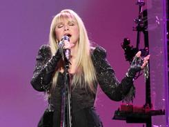 Stevie Nicks performs at Madison Square Garden on March 26 in New York City.