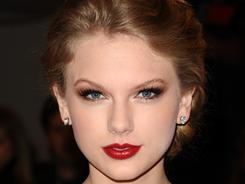 Taylor Swift arrives at the Metropolitan Museum of Art Costume Institute gala in New York.