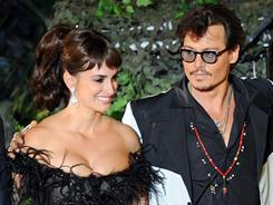 Penelope Cruz and Johnny Depp attend the premiere of Walt Disney Pictures' Pirates of the Caribbean: On Stranger Tides held at Disneyland on May 7, 2011, in Anaheim, Calif. Proceeds from the world premiere will benefit the Boys & Girls Clubs of America.