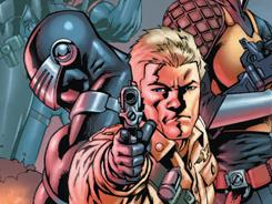 The real American heroes are put on the defensive by Cobra forces in G.I. Joe issue 1, written by Chuck Dixon.