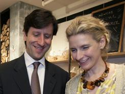 """An extraordinary talent for friendship"": That's how Elizabeth Gilbert, author of the best seller Eat, Pray, Love, describes her Italian friend Luca Spaghetti (real name), who has written his own memoir, Un Amico Italiano: Eat, Pray, Love, in Rome."