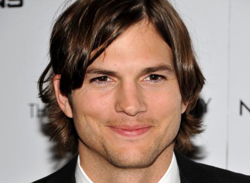 ashton kutcher two and a half men character. to Malibu: Ashton Kutcher