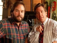 "Richard Karn, left, and Tim Allen brought ""more power"" to TV viewers throughout the 1990s."