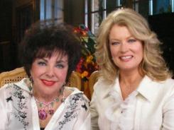 Memorable meeting: Elizabeth Taylor sat down with Mary Hart in 2007.