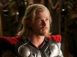 Chris Hemsworth and Thor took in $34.5 million this weekend; it opened to $66 million a week ago.