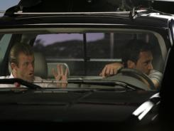 Caan's character, Danny Williams, often finds himself relegated to the passenger seat when riding with partner Steve McGarrett (Alex O'Loughlin) -- even in his own car.