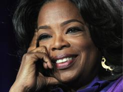 "Oprah says her executive producer,  Sheri Salata, sat her down for ""a long talk"" about the finale."