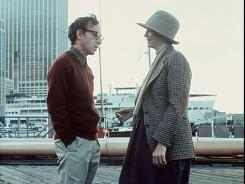 Love lost: Woody Allen with Diane Keaton in the title role of 1977's 'Annie Hall.'