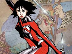 A female warrior is pitted against a clan of Japanese vampires in Shinku, the new Image Comics series by Ron Marz and Lee Moder.