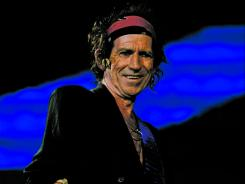 "Playing the guitar by feel, not by the rules: Keith Richards prefers when ""I pick it up, put my finger in the wrong place and -- ah, a song!"""