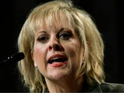 Nancy Grace will be replaced on her syndicated show Swift Justice by Clark County (Nev.) District Court Judge Jackie Glass, who presided over the 2008 trial of O.J. Simpson.