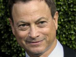 Gary Sinise: On hand to co-host concert.