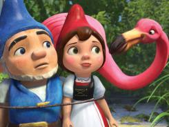 Gnomeo, Juliet and Featherstone turn the Bard on his head  in this animated film based on Shakespeare's tragedy.