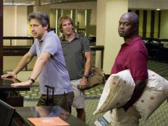 Men of a Certain Age: Ray Romano, left, Scott Bakula and Andre Braugher are back.