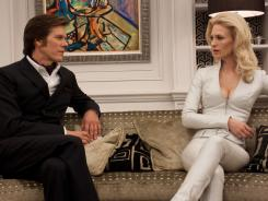 Diabolical plans revealed: Kevin Bacon's Sebastian Shaw tells fellow mutant Emma Frost (January Jones) about his plot to launch a nuclear war in X-Men: First Class, out Friday.