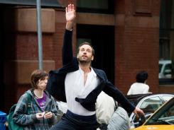 Dancing in the streets: Benjamin Millepied films a commercial in New York for Yves Saint Laurent's new men's fragrance.