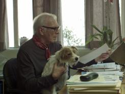 Me and you and a dog named Arthur: Christopher Plummer and Cosmo the Jack Russell terrier grapple with love and mortality.