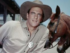 James Arness played the role of Marshal Matt Dillon in 'Gunsmoke' for two decades.