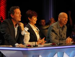 America's Got Talent: Piers Morgan, Sharon Osbourne and Howie Mandel are the deciders.