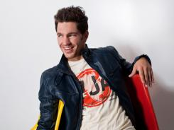 Andy Grammer has a hit single in 'Keep Your Head Up.'